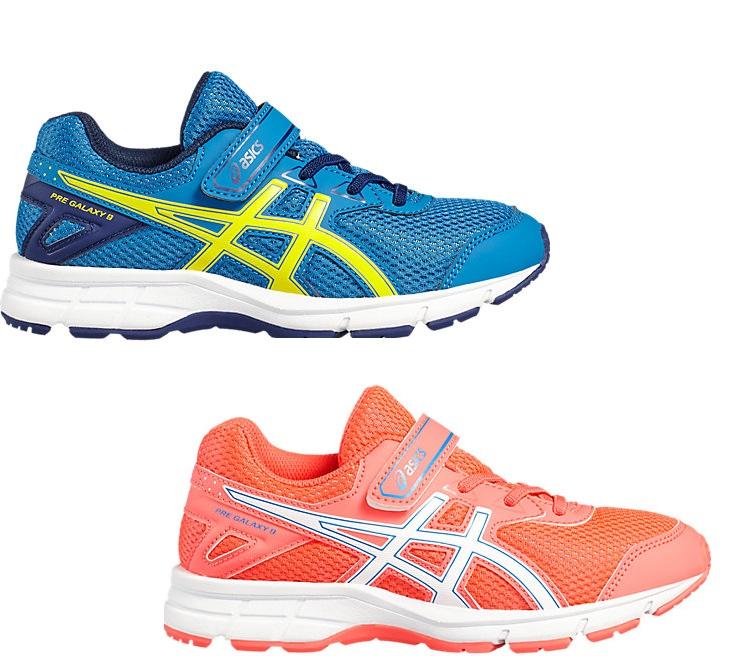 Asics Gel Galaxy 9 Velcro Running Shoes