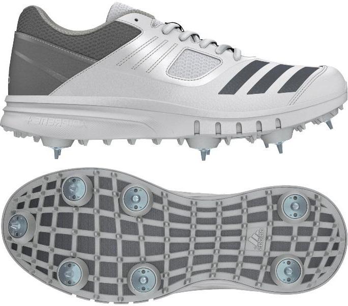 Adidas Howzat Jnr Spike Cricket Shoe at