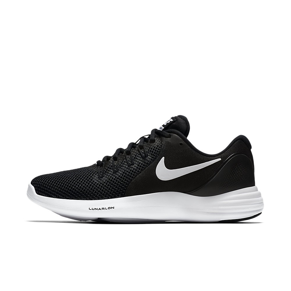 quality design dcbab 71314 Nike Lunar Apparent Women s -Black-White-Grey