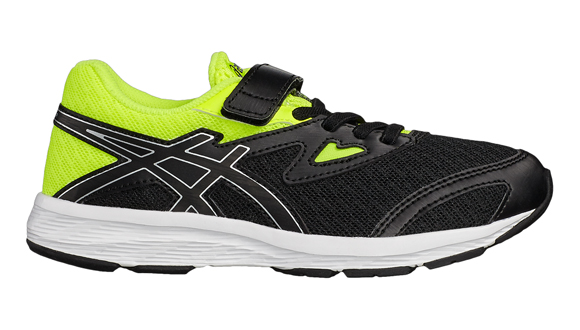 finest selection 91f64 f4d25 Asics Amplica Velcro Junior Running Shoes