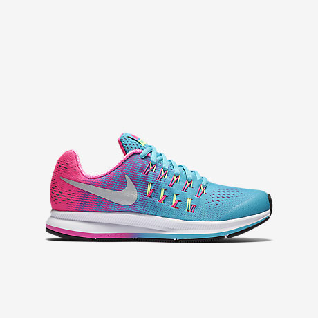 46287a112f Nike Zoom Pegasus 33 Junior Running Shoe