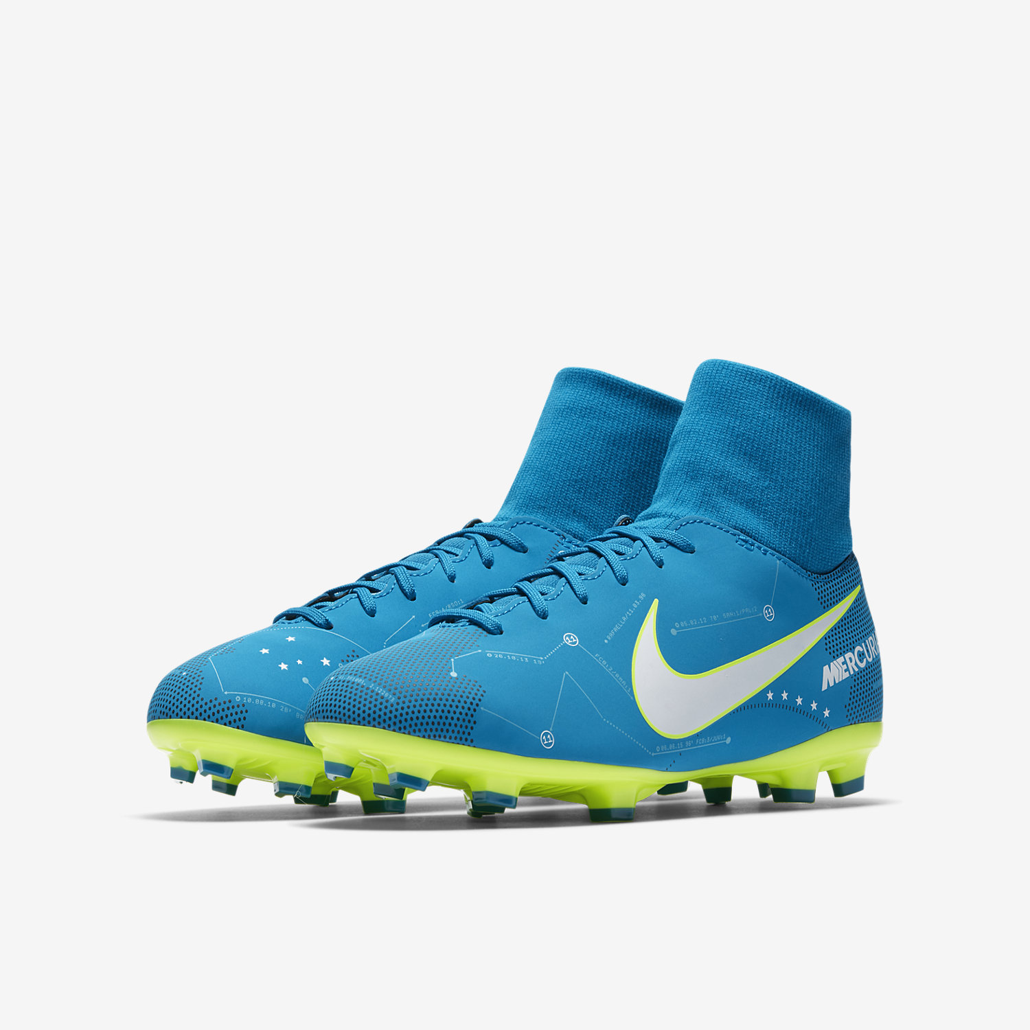 pretty nice 6ad11 a0c88 Vi Mercurial Fit Nike Junior Boots Dynamic Victory Football Neymar PzwWvqS