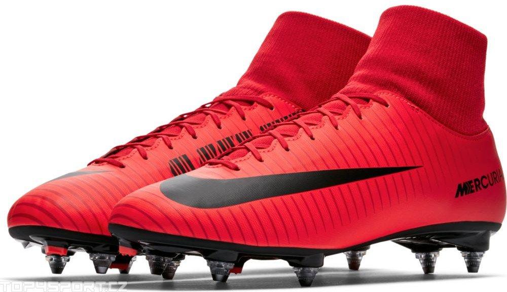 wholesale dealer 9aa3c 6ec7b Nike Mercurial Victory V1 DF SG - Red